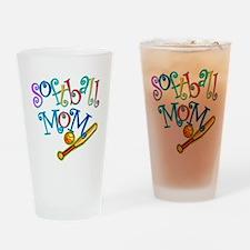 Softball Mom II Pint Glass