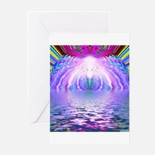 Psychedelic Sunrise Greeting Cards (Pk of 10)