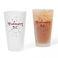 Washington DC Stars & Stripes Pint Glass