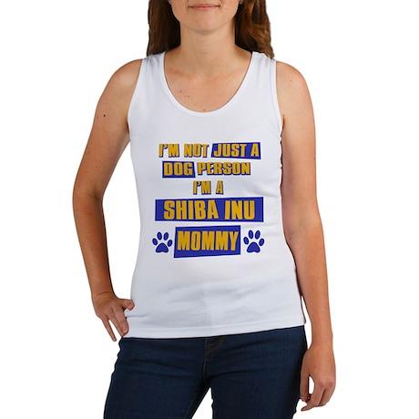 Shiba Inu Mommy Women's Tank Top