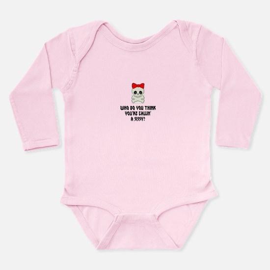 Goth Sissy Long Sleeve Infant Bodysuit
