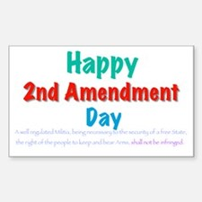 2nd Amendment Day Decal