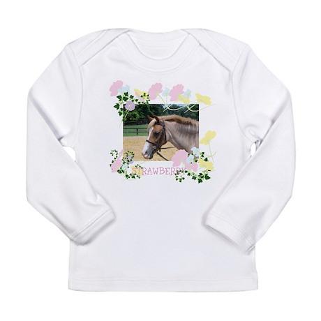 Long Sleeve Infant T-Shirt The pony Cafe