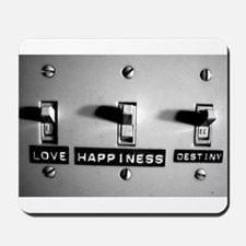 Love Happiness Destiny Mousepad