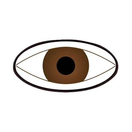 Big Open Eye Symbol Patches