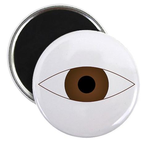 """Big Open Eye Symbol 2.25"""" Magnet (10 pack)"""