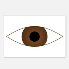 Big Open Eye Symbol Postcards (Package of 8)