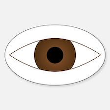 Big Open Eye Symbol Decal