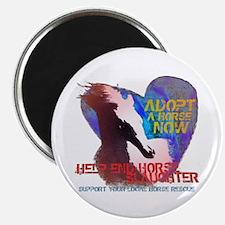 Adopt a Horse Magnet