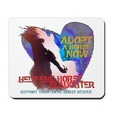 Adopt a Horse Mousepad