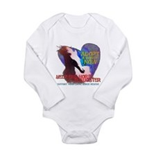 Adopt a Horse Long Sleeve Infant Bodysuit