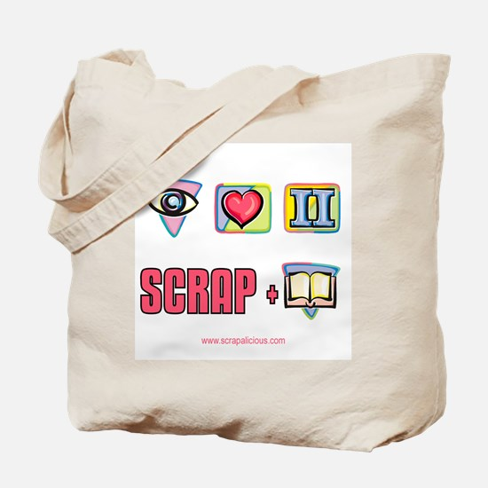 I Love To Scrapbook Tote Bag