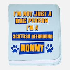 Scottish Deerhound Mommy baby blanket
