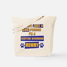 Scottish Deerhound Mommy Tote Bag