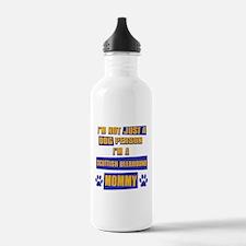 Scottish Deerhound Mommy Water Bottle