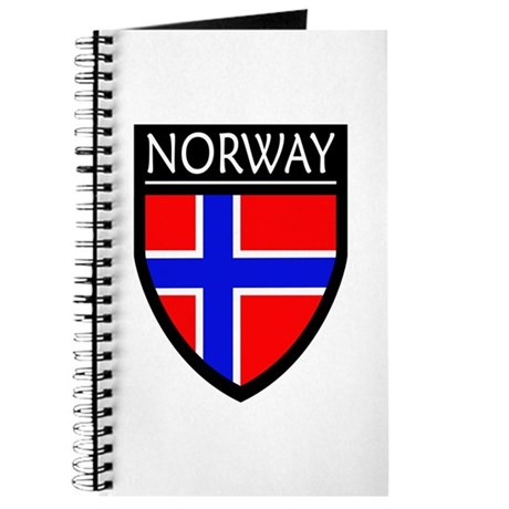 Norway Flag Patch Journal