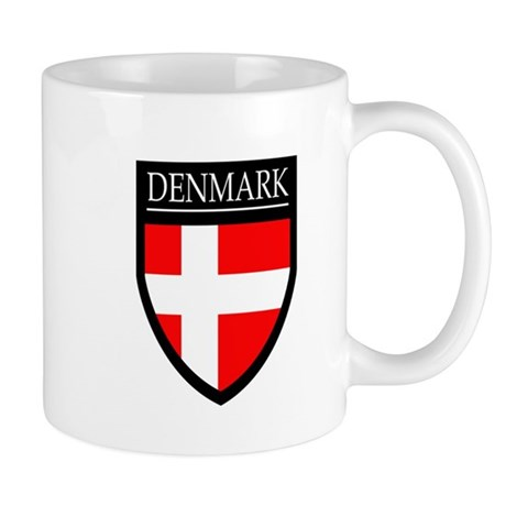 Denmark Flag Patch Mug