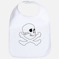 Skull & Bones (Simple) Bib
