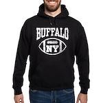 Buffalo NY Football Hoodie (dark)