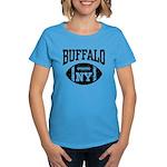 Buffalo NY Football Women's Dark T-Shirt