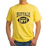 Buffalo NY Football Yellow T-Shirt