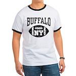 Buffalo NY Football Ringer T