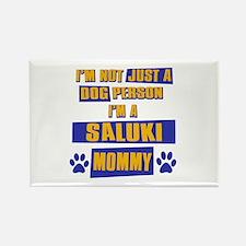 Saluki Mommy Rectangle Magnet (10 pack)