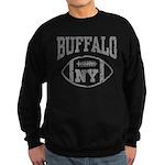 Buffalo NY Football Sweatshirt (dark)