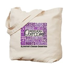 Family Square Alzheimer's Tote Bag