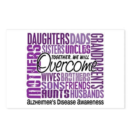 Family Square Alzheimer's Postcards (Package of 8)