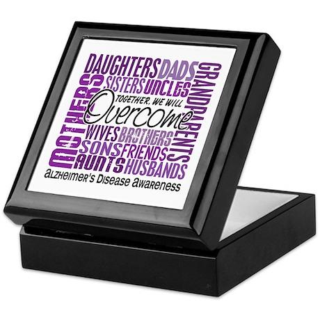 Family Square Alzheimer's Keepsake Box
