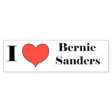 I (heart) Bernie Sanders Bumper Bumper Sticker