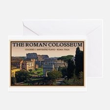 Colosseum from Forum Greeting Card
