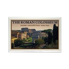 Colosseum from Forum Rectangle Magnet