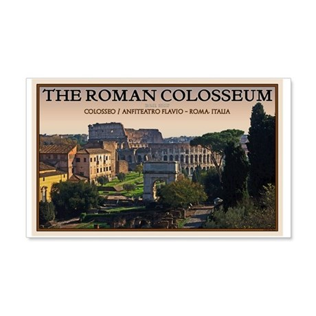 Colosseum from Forum 22x14 Wall Peel