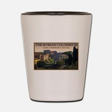 Colosseum from Forum Shot Glass