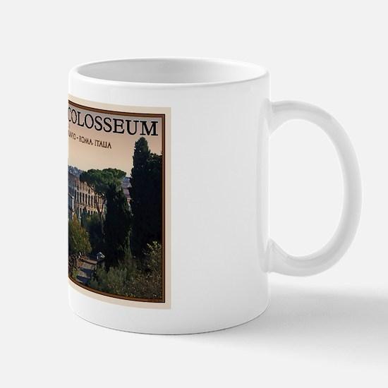 Colosseum from Forum Mug