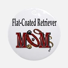 Flat-Coated Retriever Ornament (Round)