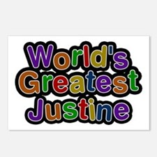 World's Greatest Justine Postcards 8 Pack