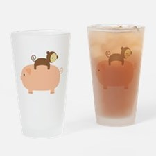 Baby Monkey Pint Glass