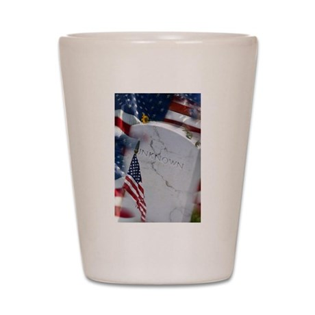The Unkown Soldier Shot Glass