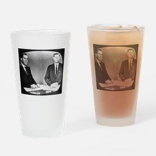 Nixon Vs Kennedy Debate Pint Glass