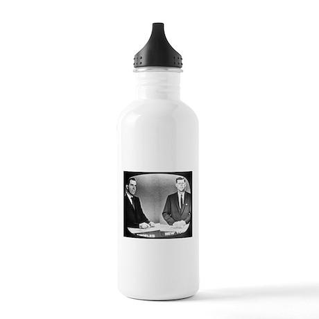 Nixon Vs Kennedy Debate Stainless Water Bottle 1.0