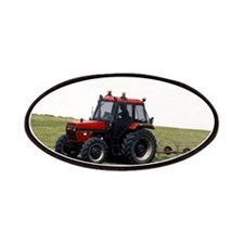 A Red Tractor On The Go Patches