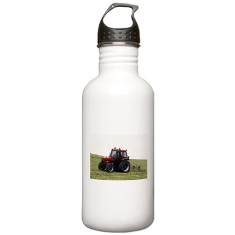 A Red Tractor On The Go Stainless Water Bottle 1.0