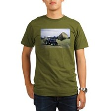 Tractor Hauling Hay T-Shirt