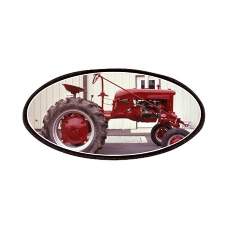 Ole Red Tractor Patches