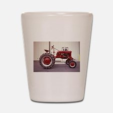 Ole Red Tractor Shot Glass