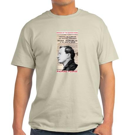 Padraic Pearse - Ash Grey T-Shirt