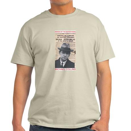 Michael Collins - Ash Grey T-Shirt